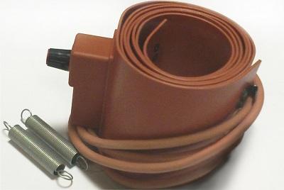 Силиконовый нагревательный пояс Heatfor для бочек объемом 200 литров