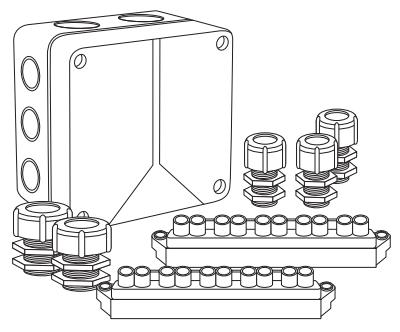 Соединительная коробка Abox100/S (стандарт)