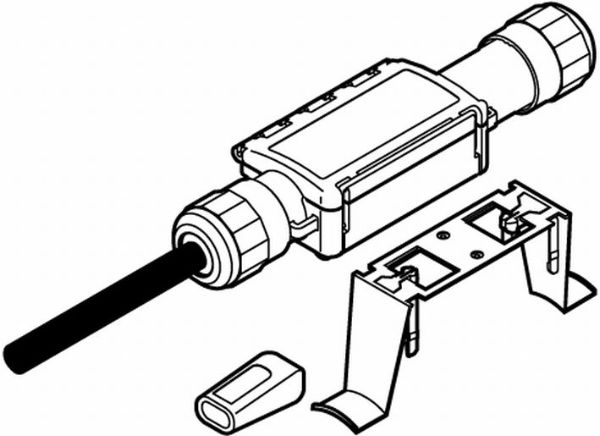 Узел подвода питания Raychem RAYCLIC-CE-02