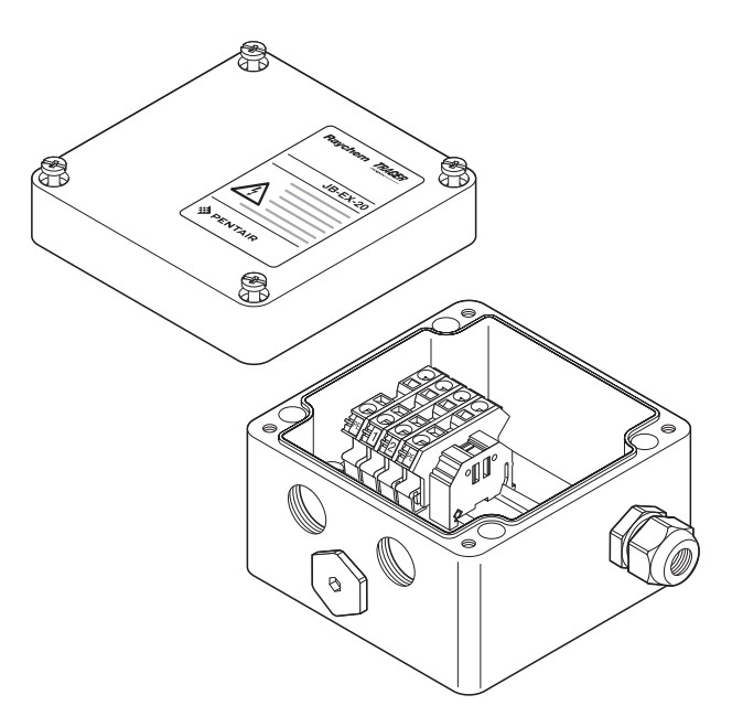 Соединительная коробка Raychem JB-EX-20