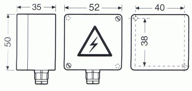 Датчик температуры Raychem VIA-DU-A10