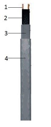 Саморегулируемый кабель Eastec SRL 30-2