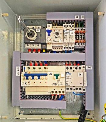 Шкаф управления обогревом трубопровода ШУО Т-1-16/220-Ме
