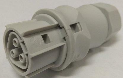 Розеточный разъем Wieland для установки на кабель (10-14mm)