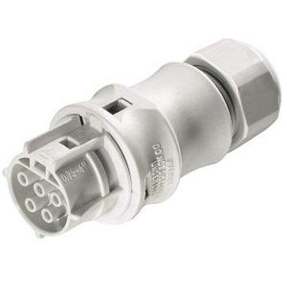Розеточный разъем на кабель (10-14mm) 5 полюсов