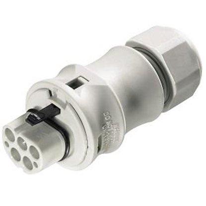 Вилочный разъем на кабель (10-14mm) 5 полюсов
