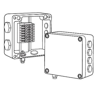 Cоединительная коробка ВЭ 122