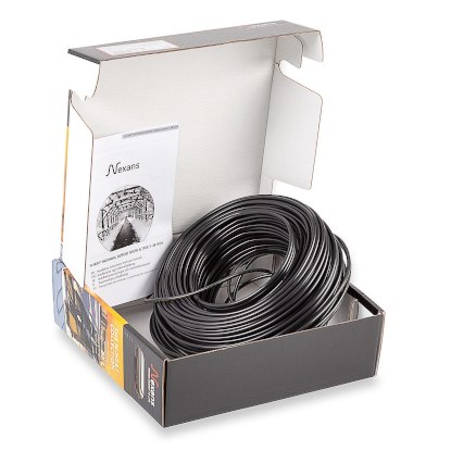 Одножильная резистивная нагревательная секция Nexans TXLP/1R Black 4060/28