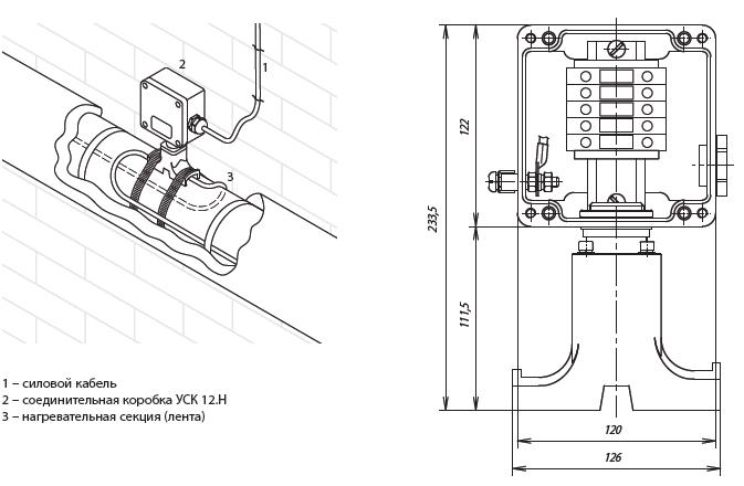 Коробка соединительная ССТ УСК 12.Н