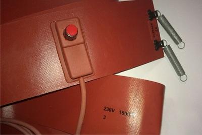 Нагревательный силиконовый пояс ELTRACE ELBH-1500