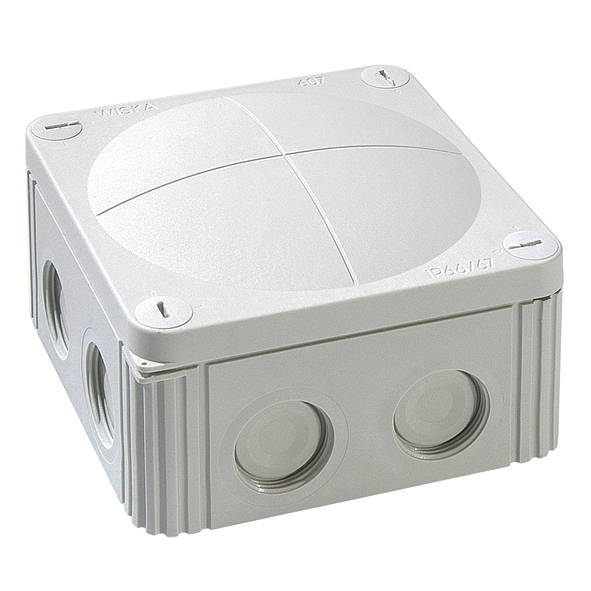 Коробка соединительная WISKA COMBI 607/5  с клеммником